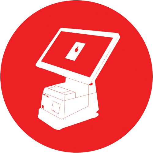 TRAY POS Icon Red